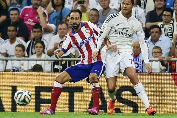 Cristiano Ronaldo apenas y se notó en el terreno de juego.