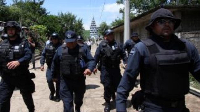 Miembros de varias corporaciones policiacas se desplazaron al lugar del...