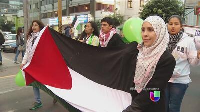 Numerosas protestas en el mundo contra ataques en Gaza