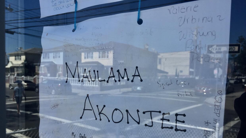 Un mensaje de solidaridad para la familia del imán Maulama Akonjee en la...