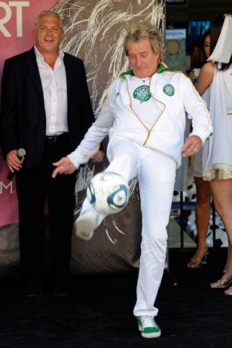 ¡Rod Stewart! ¿Casualidad?... Por todos es sabido la pasión por el fútbo...