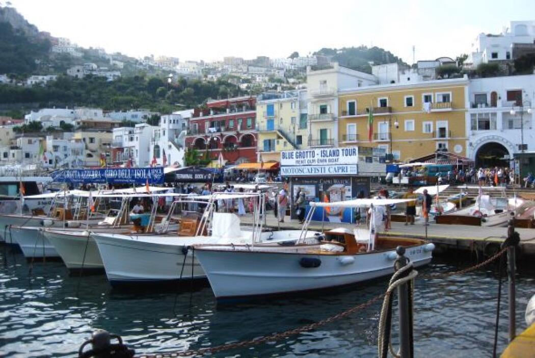 La espectacular isla de Capei en Italia