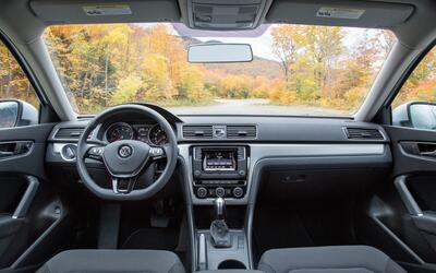 Esta es la cabina del Volkswagen Passat 2016