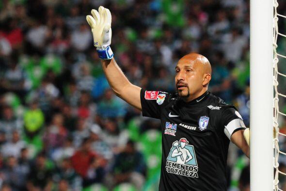 Oscar Pérez es uno de los porteros más veteranos que ha ju...