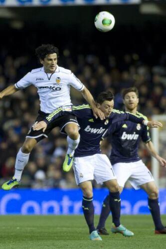 El Valencia luchó tras descontar el marcador al comienzo de la segunda m...