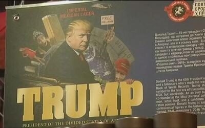 """""""Trump, el presidente de los divididos Estados Unidos de América"""" es el..."""