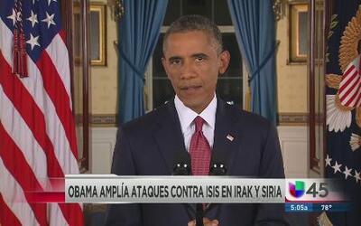 Obama amplía ataques contra ISIS