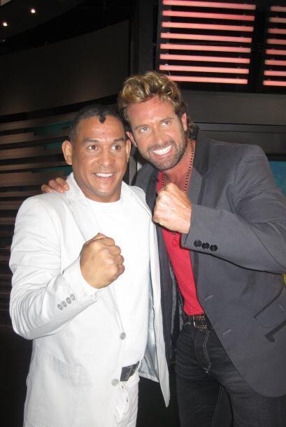 El ex campeón comparte con Gabriel Soto, otro de los invitados del Don.