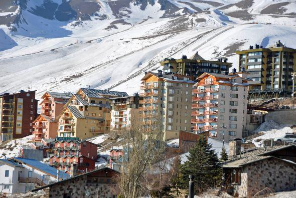 El centro de esquí de El Colorado es un destino para algunos privilegiad...