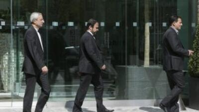El embajador de Irán ante el organismo Internacional de Energía Atómica,...