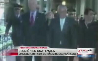 Reunión en Guatemala por crisis humanitaria
