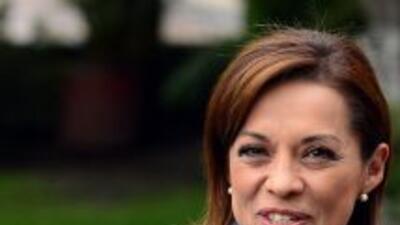 La candidata presidencial del PAN, Josefina Vázquez Mota.