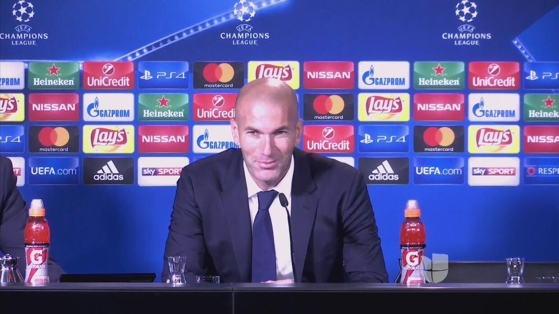 """Zidane dejó un gran análisis tras el 2-2 ante el Dortmund: """"Estoy jodido"""""""