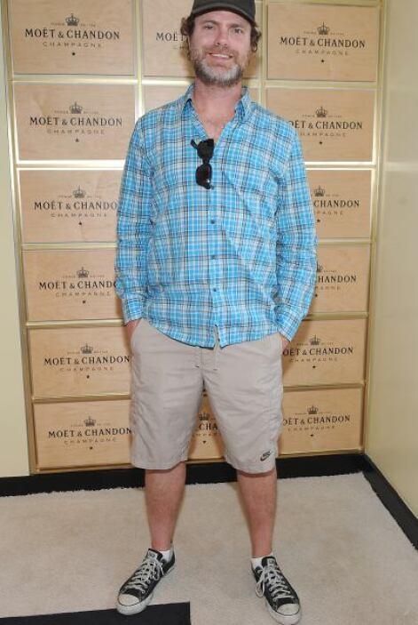 """El actor estadounidense Rainn Wilson escribió: """"Places that work awesome..."""