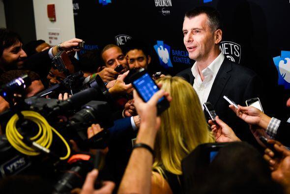 Mikhail Prokhorov - Dueño de Brooklyn Nets (No. 125, $9.9 mil mil...