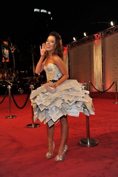Para usar un vestido como este debes tener mucha personalidad y estilo