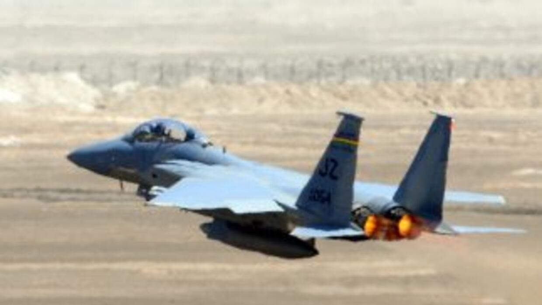La ca'ida del cazabombardero F-15 es la primera pérdida reconocida ofici...