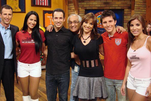 Aquí se nos coló el productor ejecutivo del show, Luis Blanco.