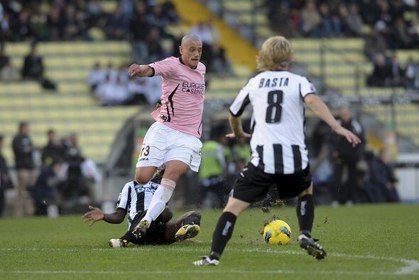 Pero el Palermo esperaba una reacción, aunque la defensa local hizo un g...