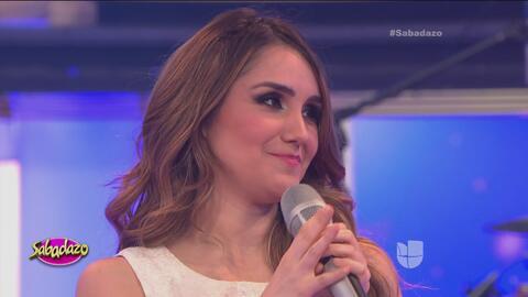 Dulce María se confesó con Laura G y Omar Chaparro