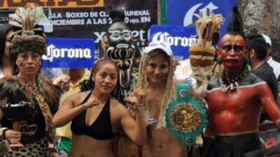 González amenazó con vencer a Juárez (Foto: Boxeo de Gala)