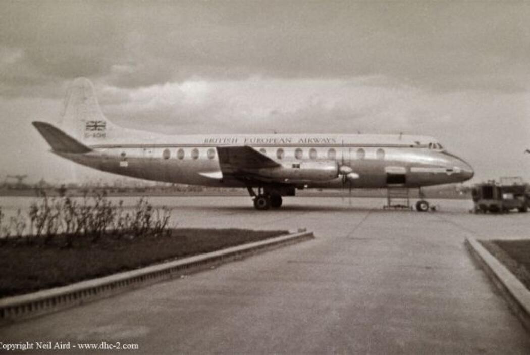 35- La extinta British European Airlines sufrió 540 fallecimientos duran...
