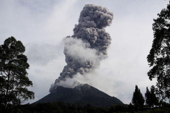 Cabe señalar que el Merapi es el volcán más activo de Indonesia.