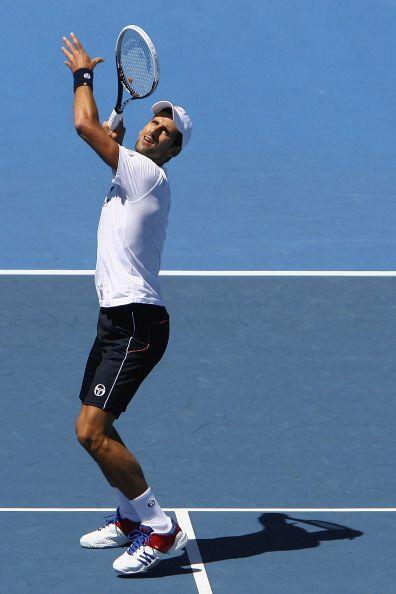 Finalmente, el serbio Novak Djokovic, número uno del mundo, también come...