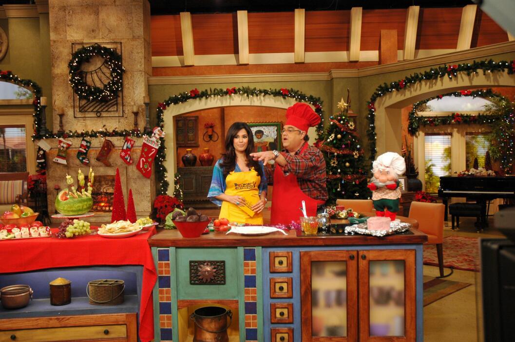 En la Navidad del 2007 así se veía nuestra casa, mientras el Chef Pepín...