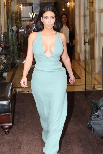 Cada vez que hay un evento de moda, Kim es una de las primeras invitadas...