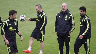 Iniesta y Diego Costa vuelve al llamado de Del Bosque