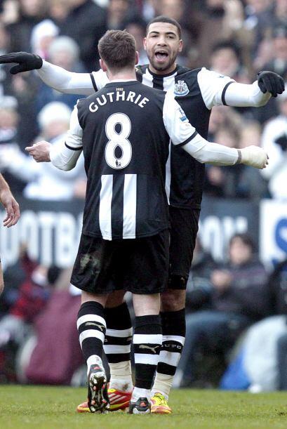 Y no hubo más anotaciones, por lo que Newcastle sacó los t...