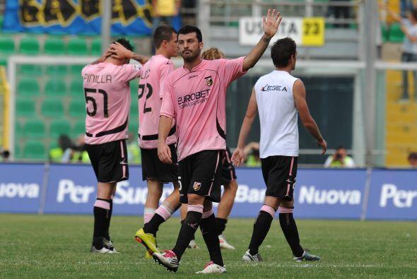 El Palermo se quedó con las manos vacías, después d...
