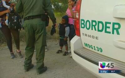 Cruce de niños en la frontera es una crisis humanitaria