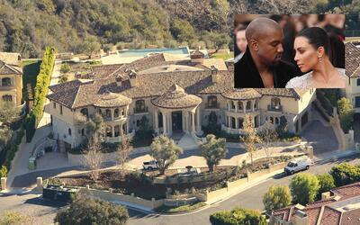 La casa de Kim y Kanye de Bel Ami