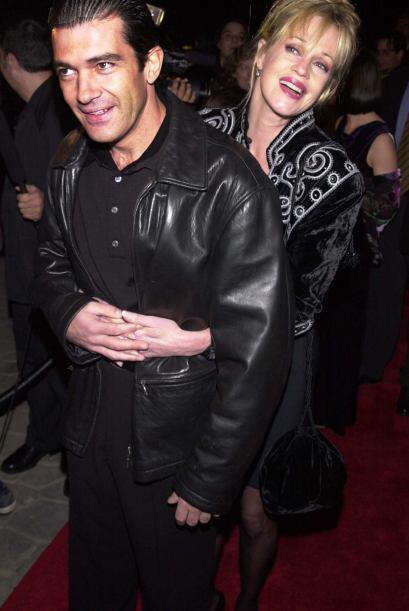 Antonio quedó prendado de los encantos y carisma de Melanie.