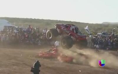 Exhibición de camiones monstruo termina en tragedia