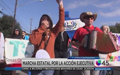 Marcha por la Acción Ejecutiva en Texas