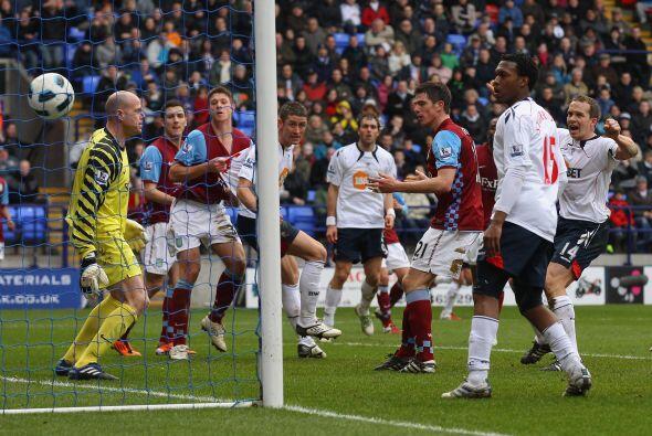 Bolton y Aston Villa protagonizaron un buen partido, de ida y vuelta y l...