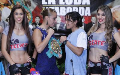 Zulina Muñoz y Vanesa Taborda