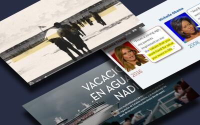 Tres proyectos periodísticos de Univision Noticias que fueron pre...