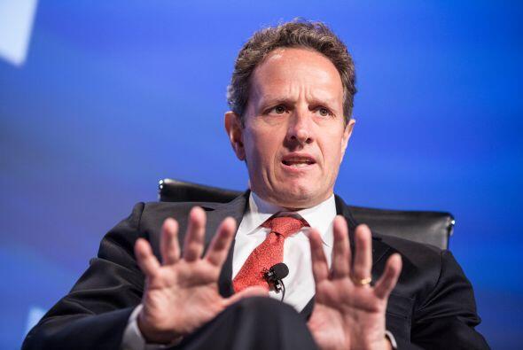 ESTADOS UNIDOS- Timothy Geithner, Secretario del Tesoro de EU, afirmó qu...