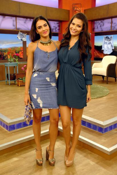 Y para contrastar a esta terrible Bestia, la bella Daniela Botero y Ana...