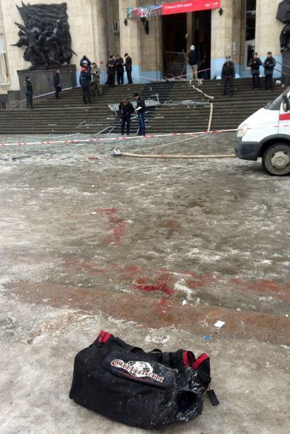 Las fuerzas de seguridad de la república norcaucásica de Daguestán, prin...