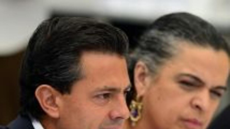 Enrique Peña Nieto, candidato del PRI a la presidencia de México.