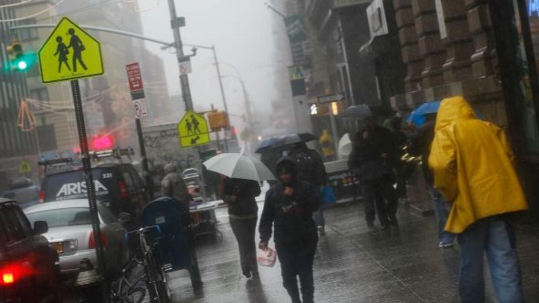 Fuertes lluvias azotan en el área de Nueva York