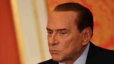 En el proceso en Roma Berlusconi no aparece como imputado, sino como par...