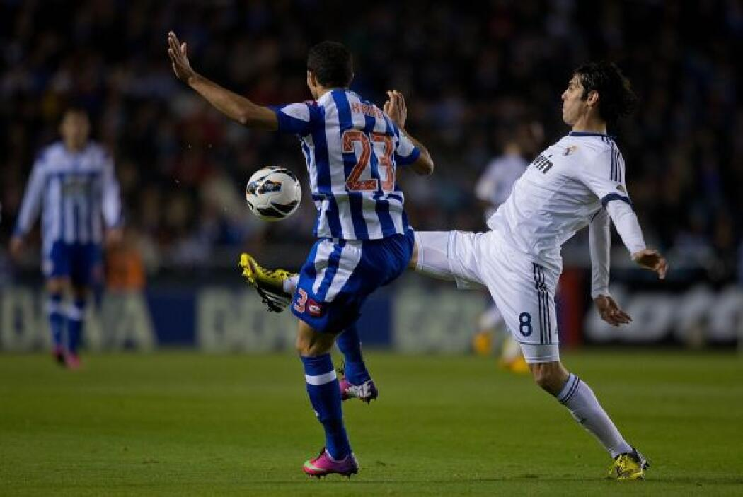 El Deportivo fue mejor que el Real Madrid en la primera parte. Los 'mere...