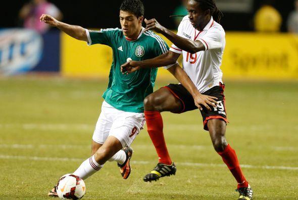 En la siguiente fase México derrotó por la mínima diferencia a Trinidad...