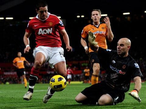 El Manchester United sufrió pero finalmente consiguió la v...